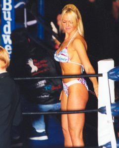 Thursday Night Fights Ring Girl