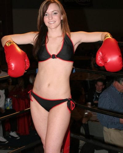 Thursday Night Fights Ring Girl
