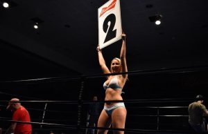 Thursday Night Fights Ring Girls Anchorage Alaska